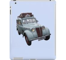 On The Road Again iPad Case/Skin
