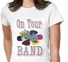 On Tour With The Band Womens Fitted T-Shirt