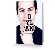 Dylan O'Brien Greeting Card