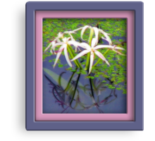 Reflective Elegance Canvas Print