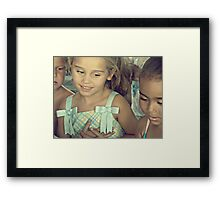 make it a better place Framed Print