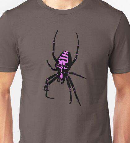Spider - Pink Unisex T-Shirt