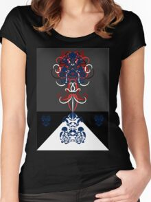 Psychedelic Alice 2 Women's Fitted Scoop T-Shirt