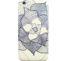 For Simone. Doodle fineliner flower  iPhone Case/Skin