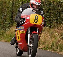 Allan Brew, Bush Road Races 2009 by Nigel Bryan