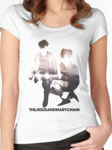 The Jesus and Mary Chain Women's Fitted Scoop T-Shirt