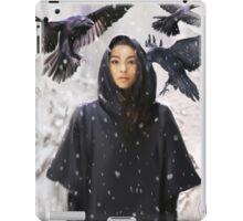 """snow ravens"" iPad Case/Skin"