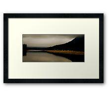 Reflections on Hatzic Framed Print