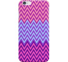Purple & Blue Chevron Pattern iPhone Case/Skin