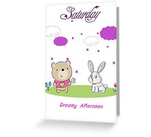 Saturday Greeting Card