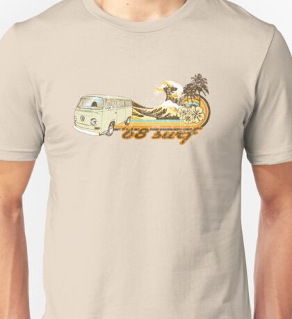 Volkswagen Kombi Tee shirt - 68 Surf Unisex T-Shirt
