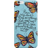 Run, My Dear iPhone Case/Skin