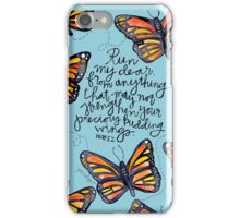 Run, My Dear iPhone Case/Skin