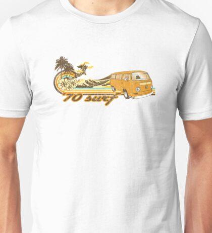 Volkswagen Kombi Tee shirt - 70 Surf Unisex T-Shirt
