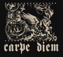 Carpe Diem Grotesque Griffin by Zehda