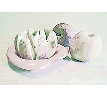 Sliced Apples Photographic Print