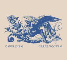 Carpe Diem Carpe Noctem Slogan by Zehda