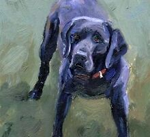 Black Lab by Valarie Wolf