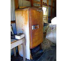 Shearing shed fridge Photographic Print