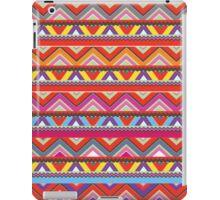 Aztec #10 - Red Pattern iPad Case/Skin