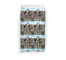 Boris the Bull Duvet Cover