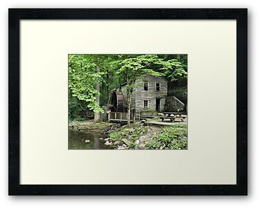 Rice Grist Mill by © Bob Hall