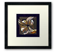 Gilded Lily Framed Print