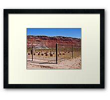 R.I.P. Paria, Utah Framed Print