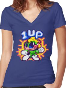Super Tempo Women's Fitted V-Neck T-Shirt
