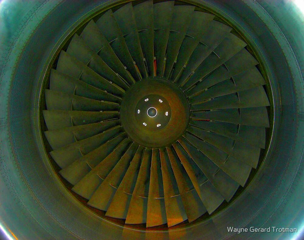 Aircraft Engine by Wayne Gerard Trotman