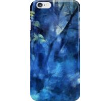 Deep In The Blue Forest iPhone Case/Skin