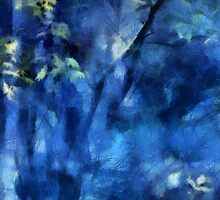 Deep In The Blue Forest by Menega  Sabidussi