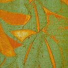 Collograph:Asian Green by Marion Chapman