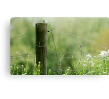 The Fence Post Metal Print
