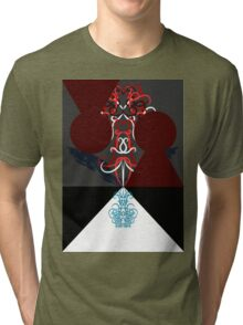 Psychedelic Alice 6 Tri-blend T-Shirt