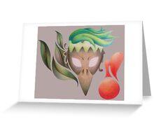 Kotowaru Greeting Card