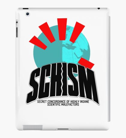 SCHISM Logo iPad Case/Skin