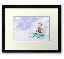 Sprinkles of love Framed Print