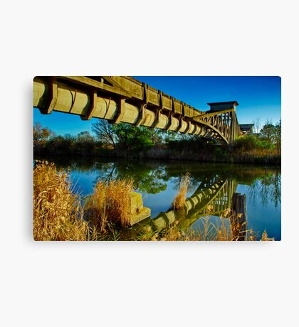 """Heritage Reflected"" Canvas Print"