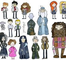 Harry Potter Cast by Bumble & Bristle