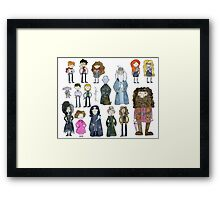 Harry Potter Cast Framed Print