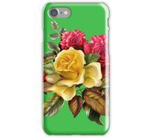 Watercolor rose bouquet iPhone Case/Skin
