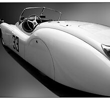 XK120 II by Kurt Golgart