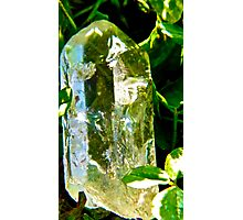 Clear Quartz Cleansing  Photographic Print