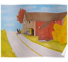 Love To Amish County Pennsylvania Poster