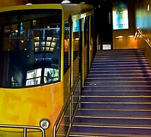 Funicular To Lykavittos by phil decocco
