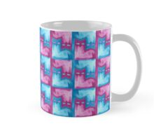 Cattern in pink and blue Mug
