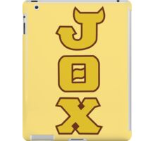 Monsters U: Jaws Theta Chi iPad Case/Skin