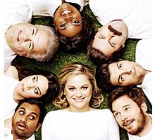 Parks And Recreation Cast by Emmycap