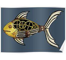 SteamPunk Fish Poster